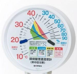 「温度・湿度計